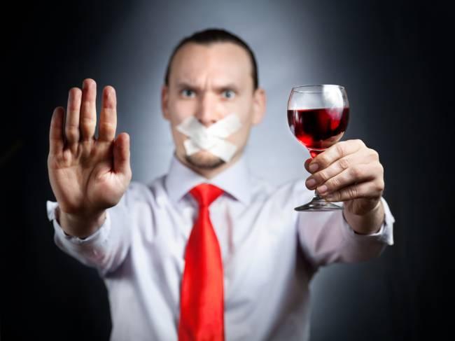 Отказ от алкоголя при лечении подагры
