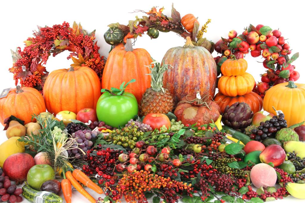 Ягоды и овощи